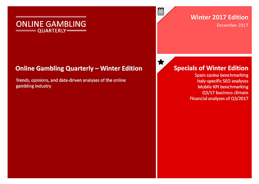 Online Gambling Quarterly - Winter 2017 Edition - Page 1