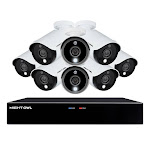 Night Owl 16-Channel 5MP HD Wired Security System with 1 TB HDD and 8 - 5MP Wired Spotlight Cameras 1647168
