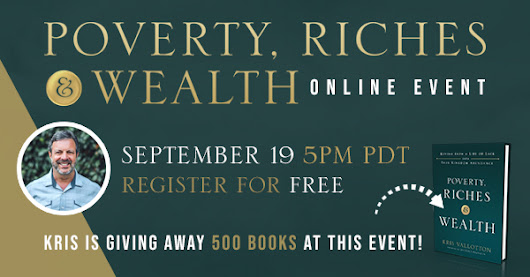 Join Kris & Friends for this Incredible Online Event! Tuesday, September 19, 8PM EST / 5PM PDT.