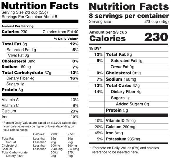 almond breeze original nutrition facts