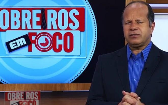O bispo Sergio Corrêa, que mandou mensagem para obreiros protestarem contra operadoras - Reprodução/TV IURD