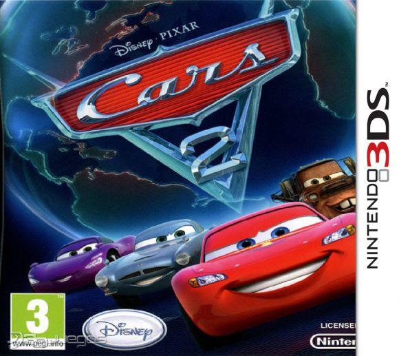 Resultado de imagen para CARS 2 3DS