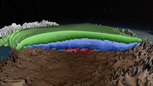 A 3-D View of the Greenland Ice Sheet Opens Window on Ice History | JSG News