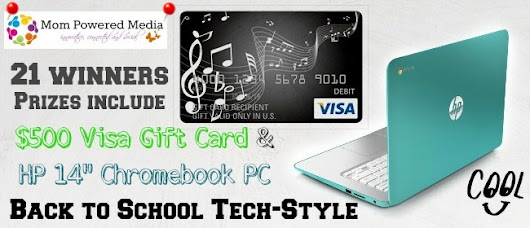 Back To School Tech Sweepstakes! Win HP 14″ Chromebook