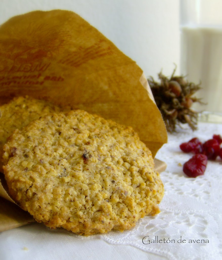 Galletón de Avena y Cramberries