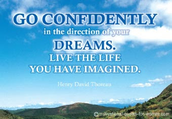 Fine Career Quotes By Henry David Thoreango Confidently In The