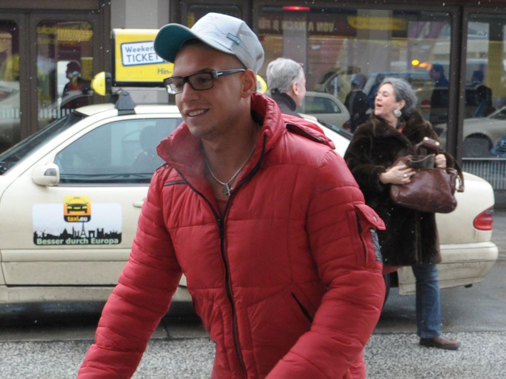 Pietro mit Brille