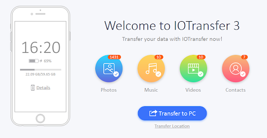 Everything You Need To Know About IOTransfer 3- An iPhone/iPad manager