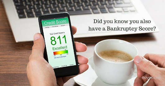 Did You Know You Have A Bankruptcy Score?