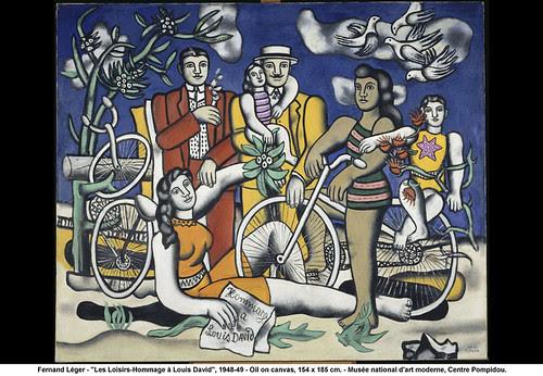 "Fernand Léger - ""Les Loisirs-Hommage à Louis David"", 1948-49 by artimageslibrary"