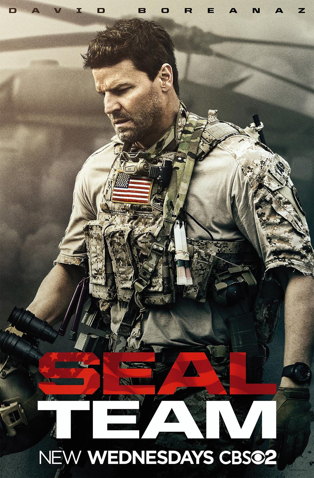 Resultado de imagem para Seal Team serie