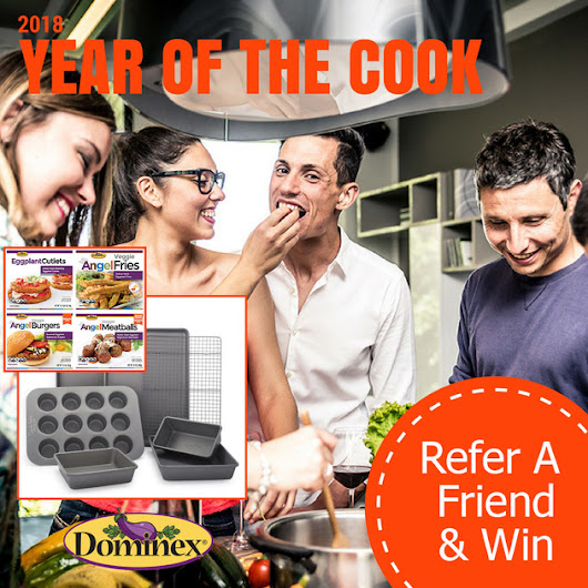 Refer a Friend and Win Dominex Products & Surla Table Bakeware Set