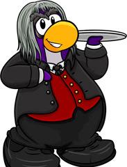 Club Penguin Halloween Party - Butler Costume