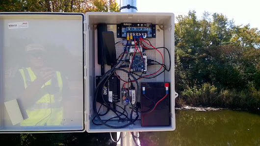 The next generation of flood monitoring is being built in Southeastern Virginia
