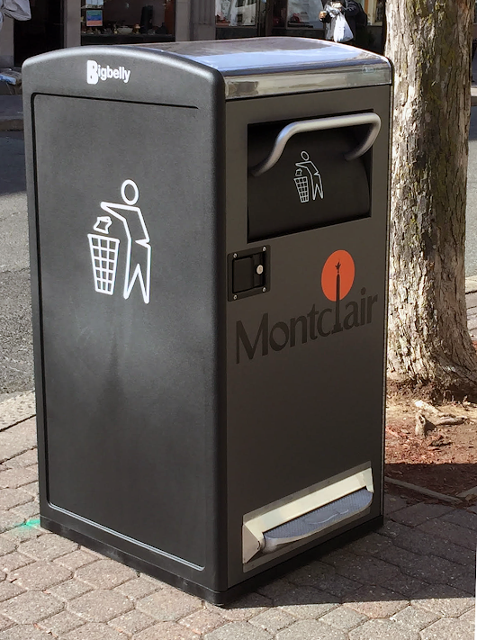 Smart Waste Disposal Units Installed Throughout Montclair