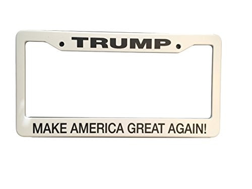 Make America Great Again Donald Trump Supporter License Plate