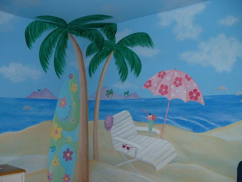 surfing wallpaper murals - www.