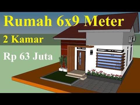 model rumah minimalis ukuran 6x7