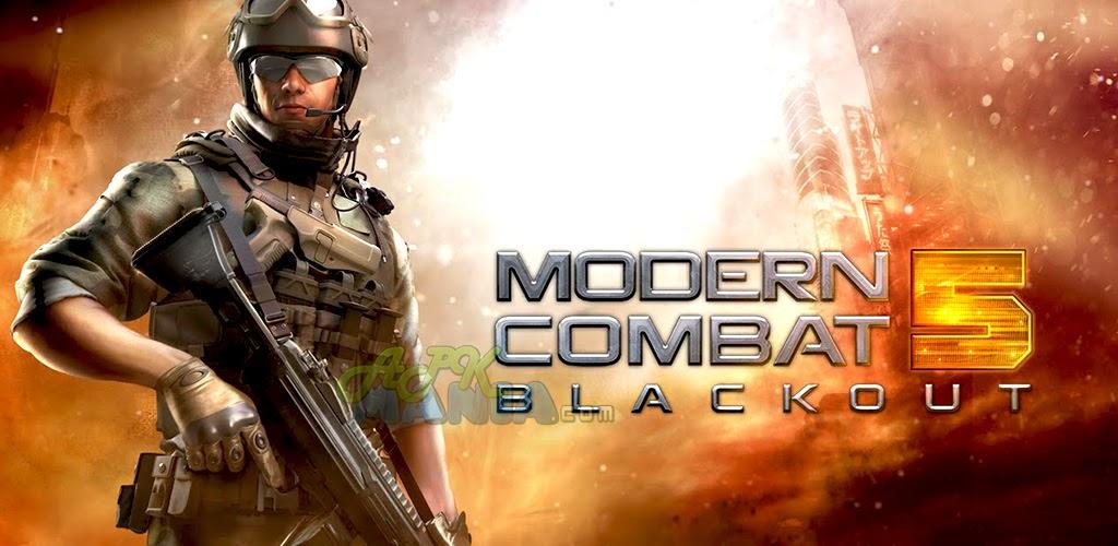 android news modern combat 5 blackout v1 7 0i apk mod