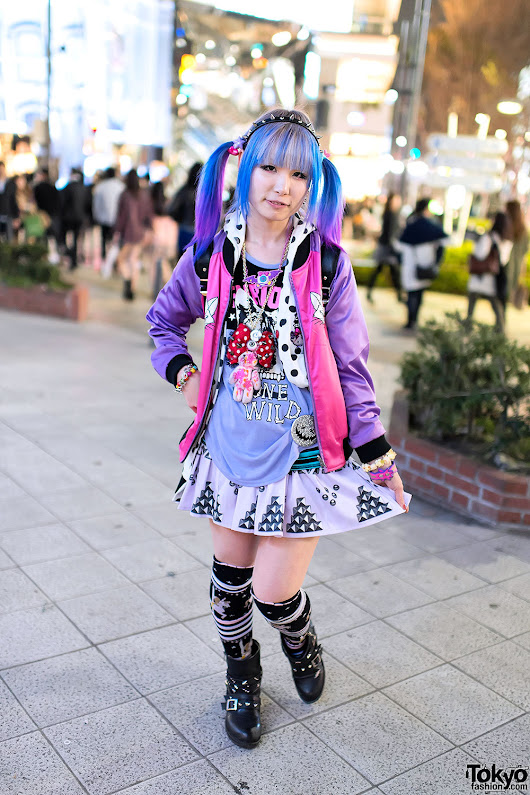 Imagen: Mana from Listen Flavor on the street in Harajuku... | Tokyo Fashion
