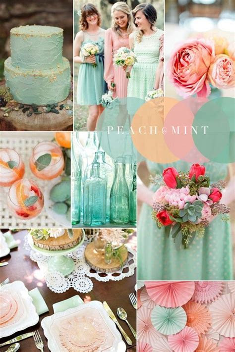 17 Best ideas about Wedding Colour Combinations on