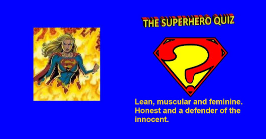 My Result: Supergirl. Which Superhero are you? Quiz