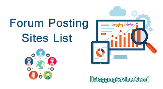 Selected 500+ Forum Posting Sites List For Create Backlink