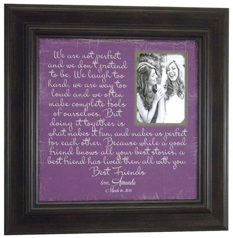 Best Friend Thank You Gift, Sister Personalized Frame Gift