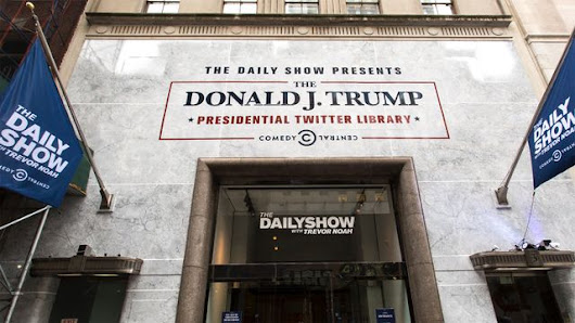 The Daily Show Presents: The Donald J. Trump Presidential Twitter Library Virtual Tour