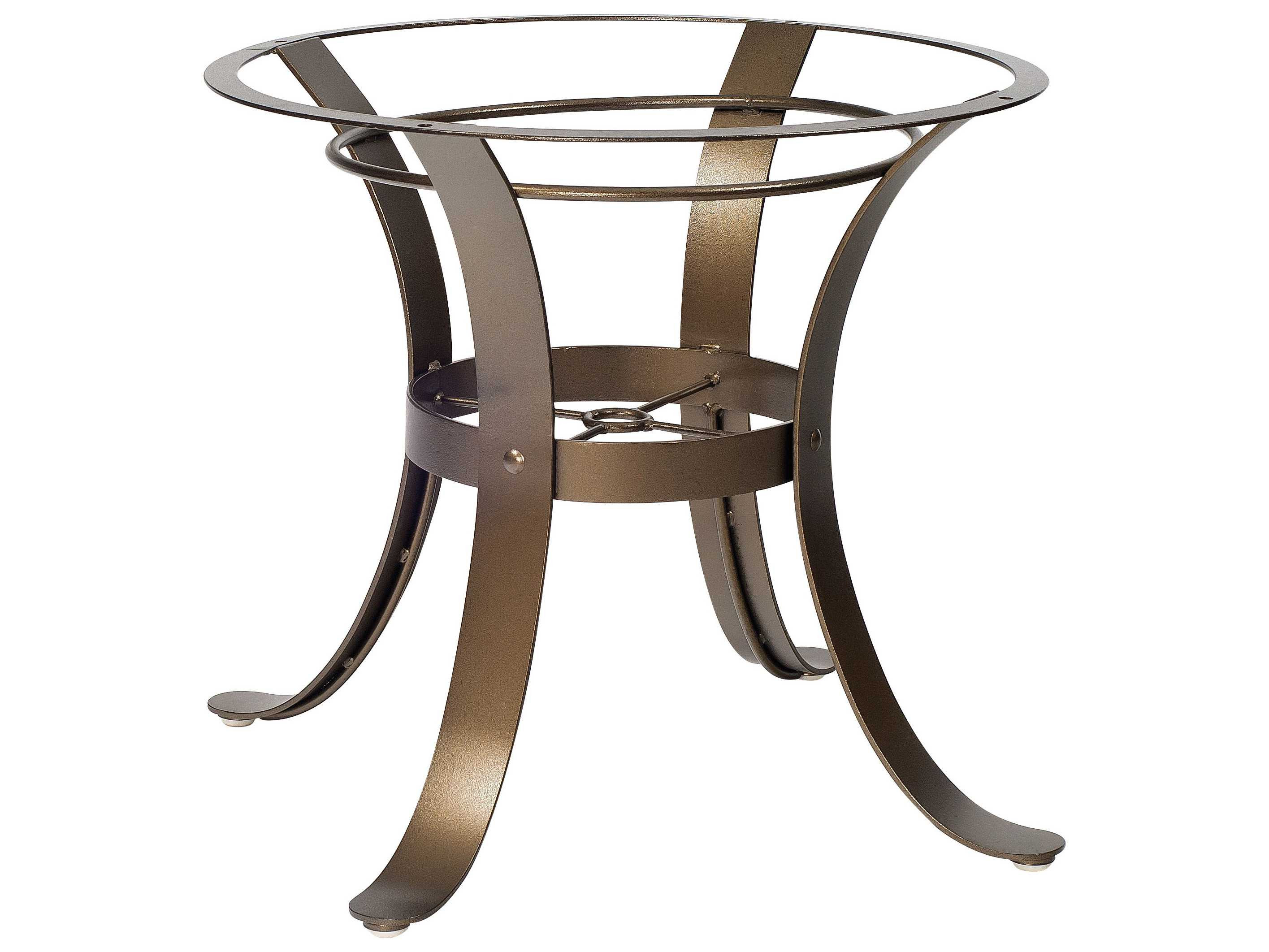 Woodard Cascade Wrought Iron Dining Table Base   2W4800