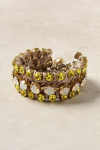 Citrine Fori Bracelet - anthropologie.com