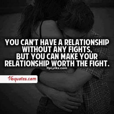 You Cant Have A Relationship Without Any Fights But You Can Make