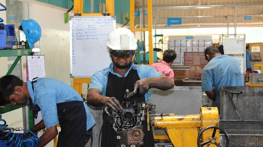 Relief from heat: Hyd company invents air-conditioned helmet for industrial workers