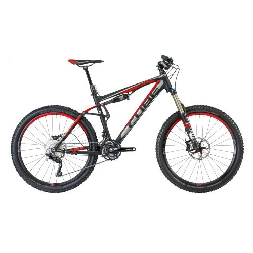 Mountain Bikes: Cube AMS 150 SL MTB Full Suspension Bike