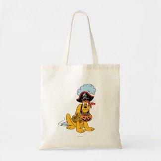 Pluto in Pirate Costume Bags