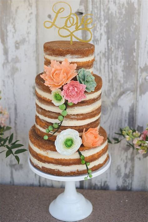 45  Incredible Fall Wedding Cakes that WOW   Deer Pearl