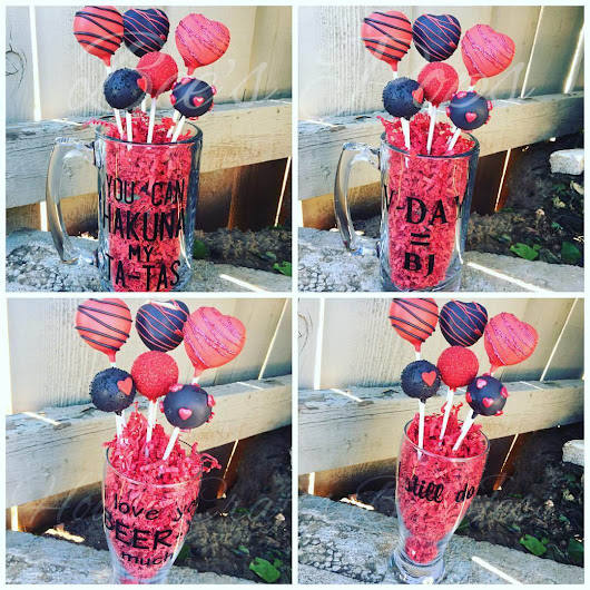 Valentine's Day Cake Pops! - San Diego Blog Time