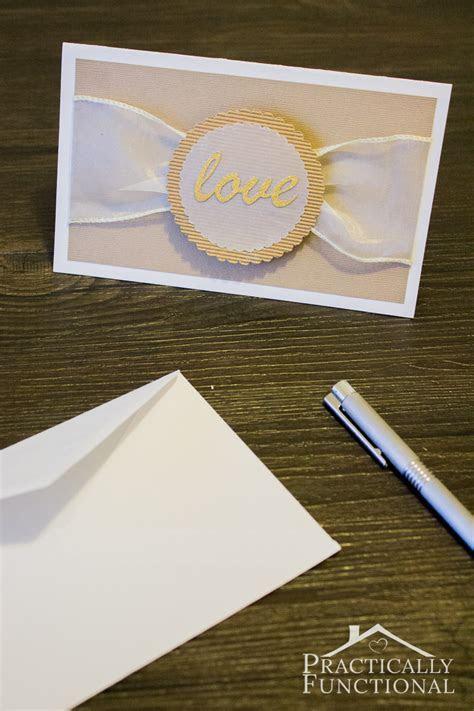 """DIY """"Love"""" Wedding Card {  Free Cut File}"""
