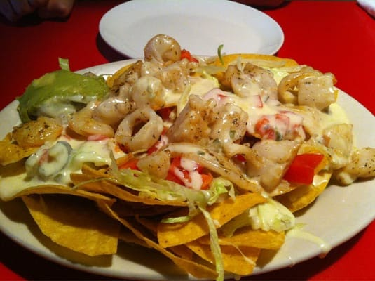 Mexican Chain Restaurant Recipes: Chi Chi's Seafood Nachos