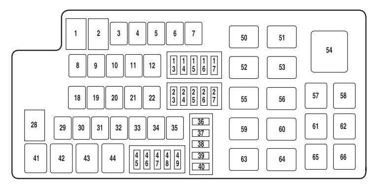 Wiring Diagram  30 Mack Cxu613 Fuse Diagram