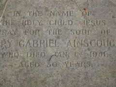 Mary Gabriel (Finch) Ainscough