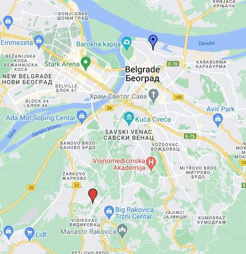 3d beograd mapa Unchow   Google+ 3d beograd mapa