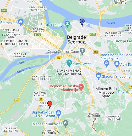 mapa beograda ulice 3d Unchow   Google+ mapa beograda ulice 3d