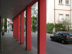 Rote Säulen