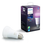 Philips 3000792 Hue A19 E26 Medium Smart WiFi LED Bulb Color Changing 60W Equivalence