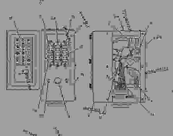 Caterpillar Engine Wiring Schematic