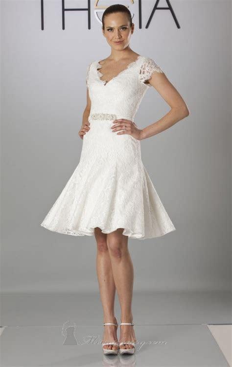 23 Beautiful Short Wedding Dresses   Style Motivation