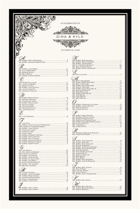 Paisley Wedding Seating Chart Indian Wedding Guest Seating