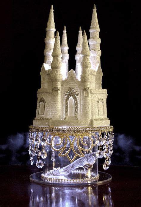 Cinderella Castle Cake Topper Wedding Fairytale with