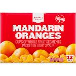 Mandarin Oranges Fruit Cup 12ct - Market Pantry